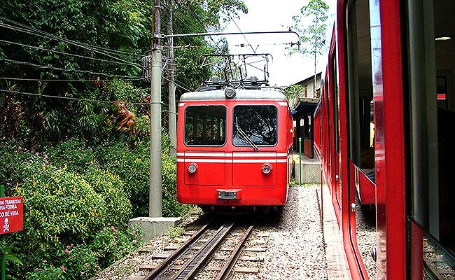 Rio de Janeiro trenzinho Corcovado 2