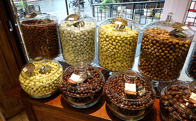 Chocolates em Gramado