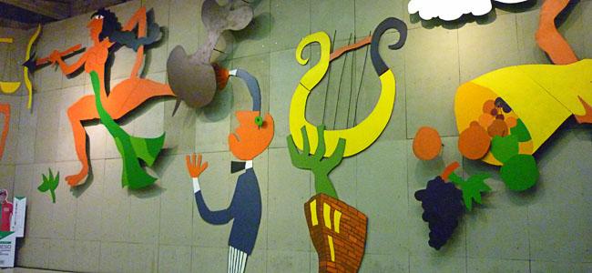 Metrô Arte em Santiago do Chile