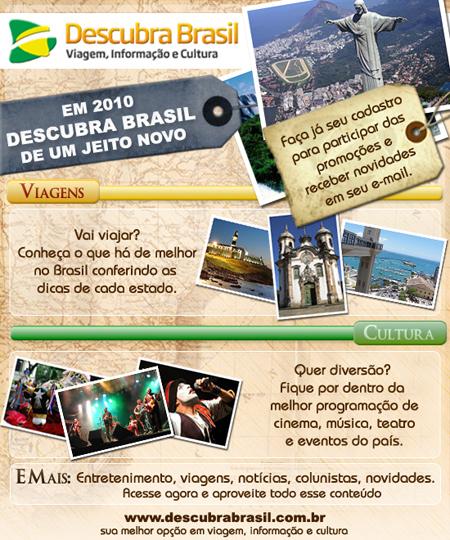 Descubra Brasil: novo portal incentiva viagens nacionais