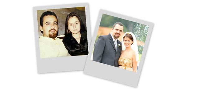 Quatro anos de casada!