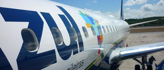 Campinas-Recife no voo da Azul