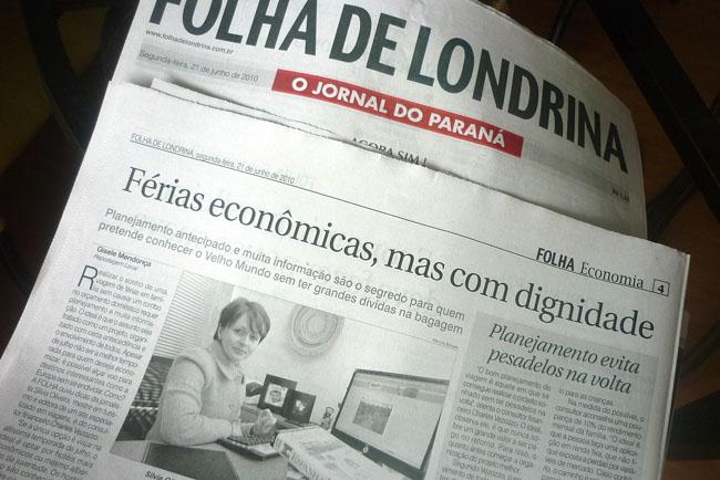 Matraqueando: Folha de Londrina e Viaje na Viagem