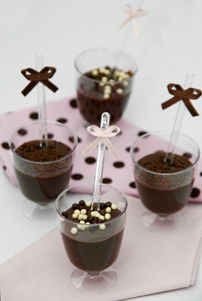 Brigadeiro de copinho: luxo de chocolate