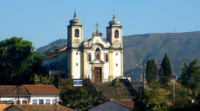 As igrejas de Ouro Preto