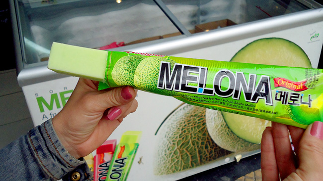 Sorvete de Melona - Liberdade - Sao Paulo
