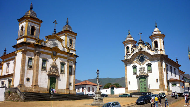 Igrejas de Mariana - Minas Gerais
