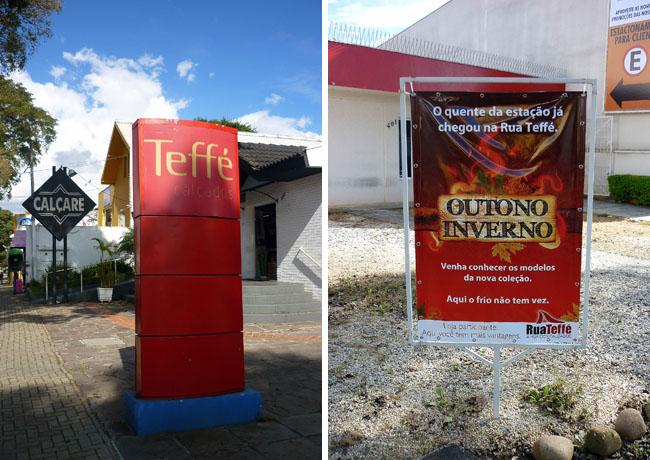 Rua Teffe Curitiba - Rua Tematica de Calcados - Curitiba PR