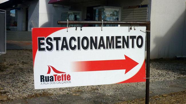 Rua Teffe Estacionamento Gratuito