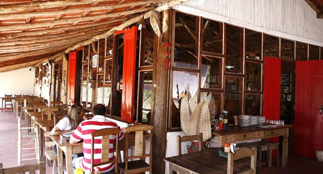 Restaurante Pau de Angu: comida caipira estrelada