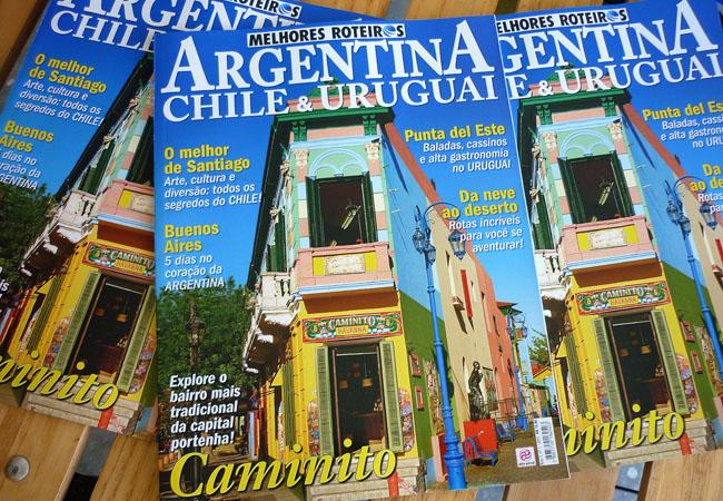 Revista Melhores Roteiros: primeira edição traz matéria da Matraca sobre Santiago do Chile