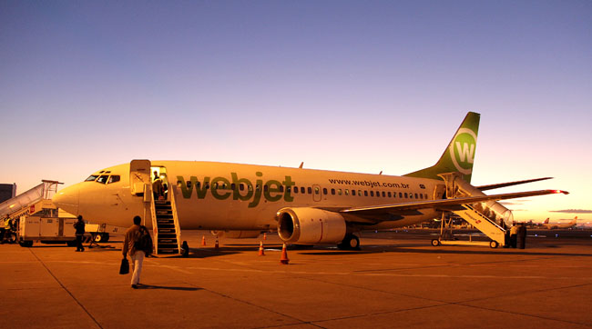 Meu primeiro voo pela Webjet