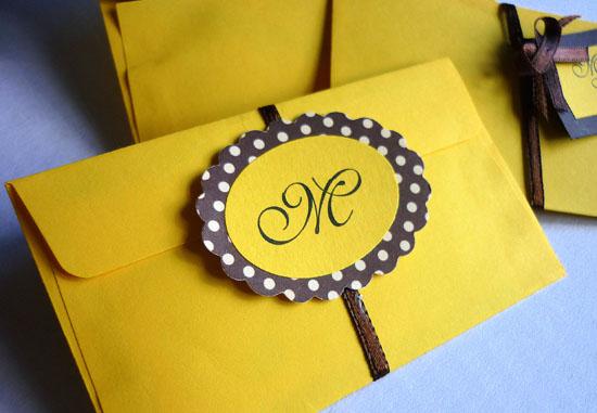Festa Da Abelhinha Convite Amarelo E Marrom Matraqueando