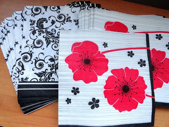 Guardanapo de papel: detalhe criativo à mesa