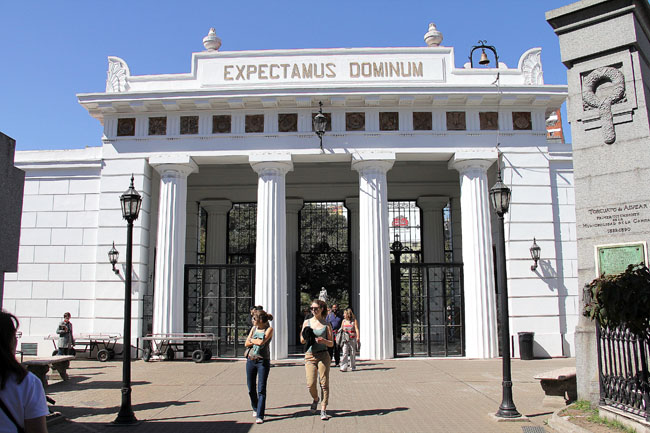 Cementerio de la Recoleta: onde repousam Evita e a aristocracia argentina