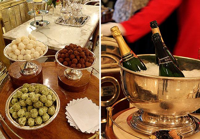 Cha da tarde buenos aires hotel alvear trufas e champagne
