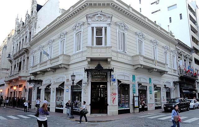 Farmacia de la Estrella:  a mais antiga botica de Buenos Aires