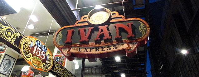 Ivan Express: o quiosque mais ajeitado da Calle Florida