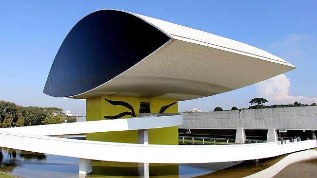 MON Museu Oscar Niemeyer Museu do Olho Detalhe
