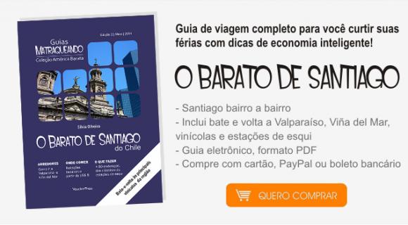 Lançamento na Lojinha Matraqueando: O Barato de Santiago do Chile