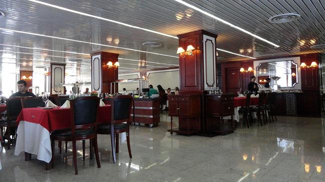 Restaurante SENAC, em  Curitiba: opção chiquetê a preços módicos