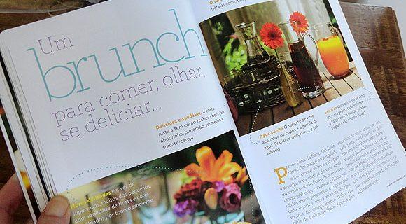 Livro Receber com Charme: meu prêmio no concurso do blog Ateliê da Caiê