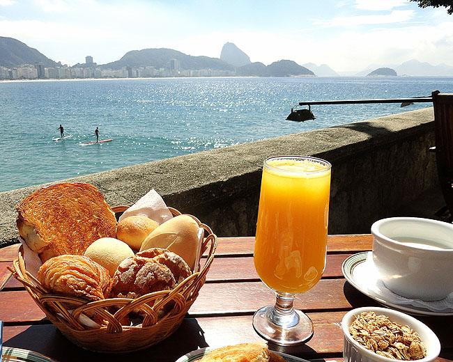 Rio de Janeiro | Café da manhã na Confeitaria Colombo do Forte de Copacabana