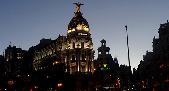Gran Via  Madri
