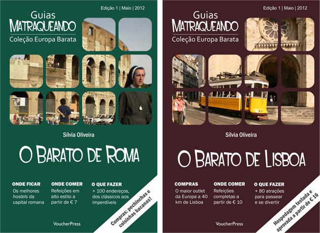 E-books Matraqueando: cinco guias de viagem completos para você!