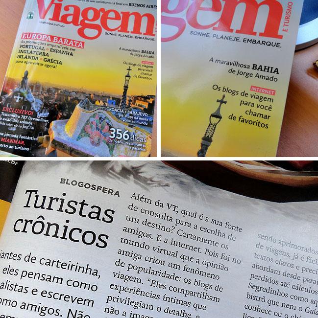 """Matraqueando é indicado na revista Viagem e Turismo como um blog para chamar de """"seu"""""""