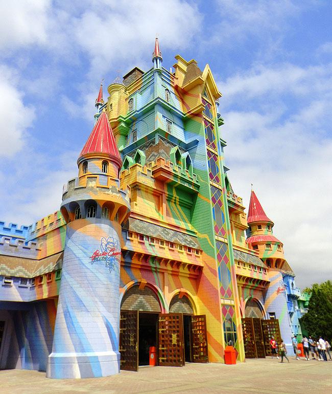 Beto Carrero castelo das Nacoes Pontos Turisticos Santa Catarina