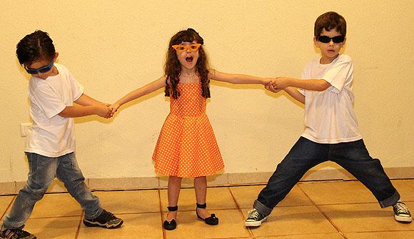 Festa Anos 60 - Figurino criancas
