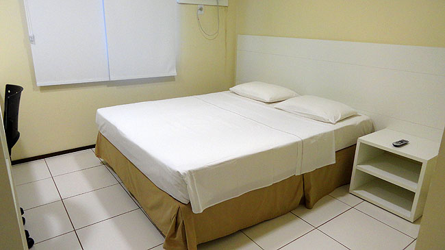 Hospedagem economica Sao Luis Hotel Soft Inn  cafe da manha cama