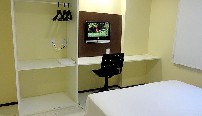 Hospedagem economica Sao Luis Hotel Soft Inn mesa de trabalho 1