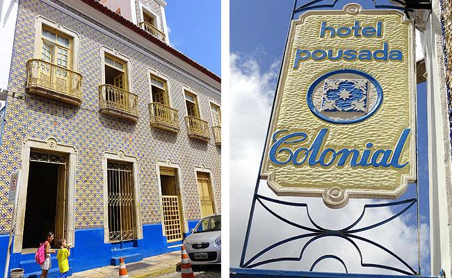 Pousada Colonial Centro Historico de Sao Luis do Maranhao fachada 1