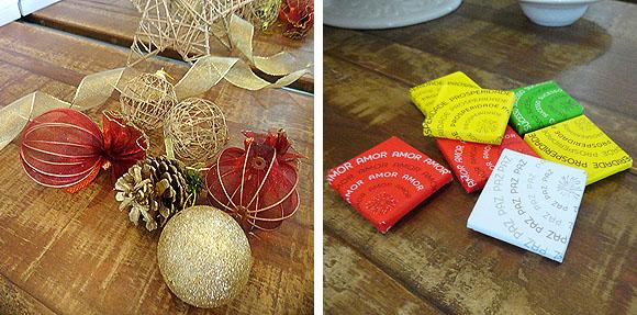 Ceia de Natal Brasileira Sugestao decoracao dourada