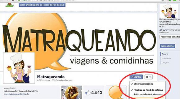 Nova política do Facebook para fanpages: leia o nosso recadinho e continue recebendo todos as dicas do Matraqueando na rede social