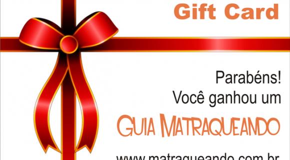 Gift Card da Lojinha Matraqueando: compre o vale-presente e ganhe um regalo também!