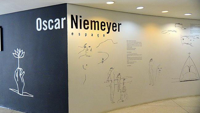 MON Museu Oscar Niemeyer Museu do Olho Curitiba ESpaco Niemeyer