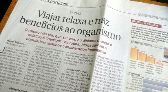 Matraca na Folha de Londrina (di novo!)