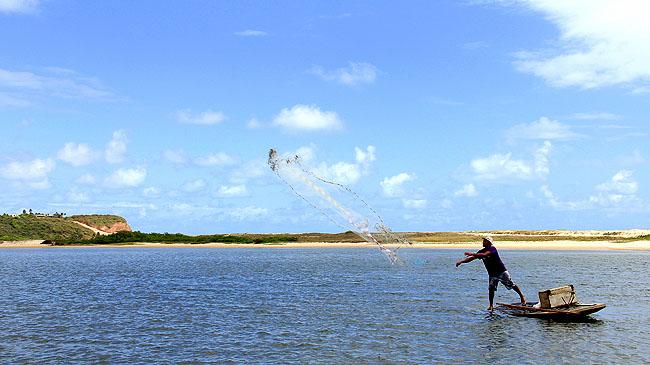 Joao Pessoa Litoral Sul Praias Como chegar Barra de Gramame Pescador