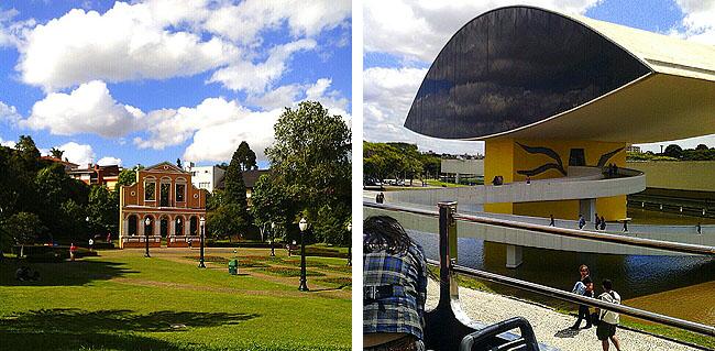 Linha Turismo Curitiba MON e Bosque Alemao
