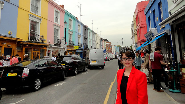 Portobello Road Market Londres Pontos Turisticos Silvia Oliveira Jornalista