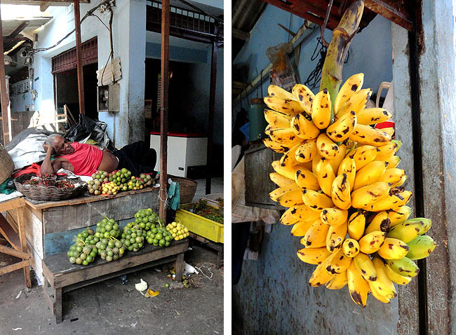 Feira de Sao Joaquim Salvador Bahia Banana