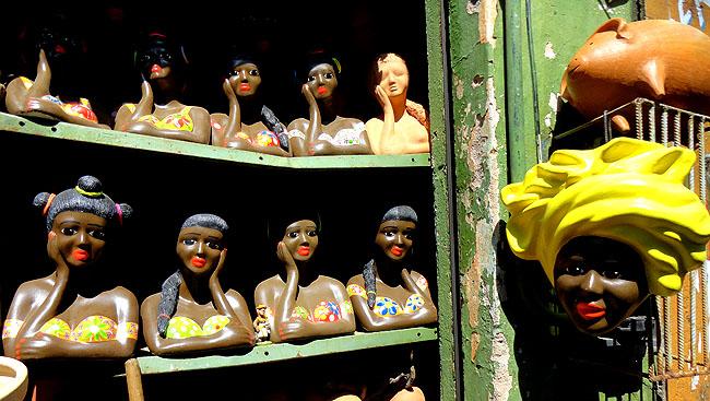 Feira de Sao Joaquim Salvador artesanato