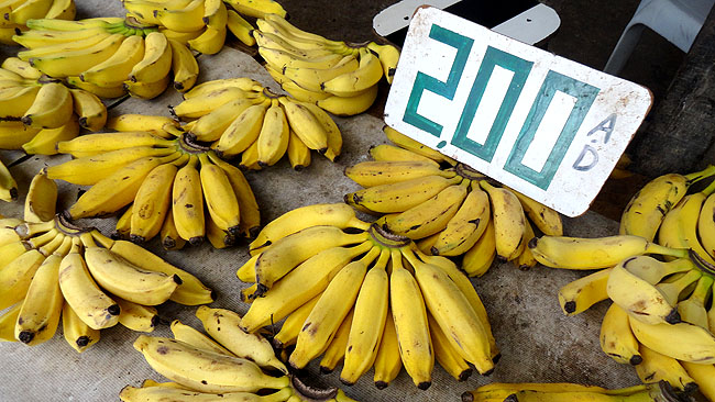 Feira de Sao Joaquim Salvador banana