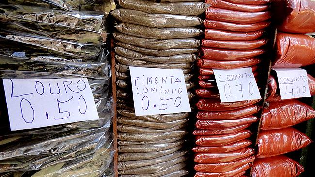 Feira de Sao Joaquim Salvador temperos 1