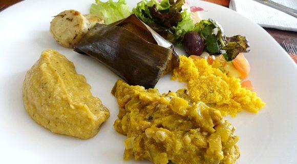Restaurante Ramma: cozinha natural de primeiríssima no centro histórico de Salvador