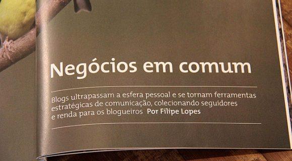 """Matraqueando na revista """"Conselhos"""" da Fecomércio de São Paulo"""