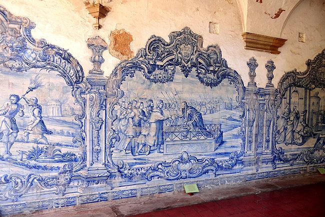 Igreja Sao Francisco Salvador Pontos Turísticos Azulejos 1
